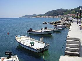 Samos, Agios Konstantinos beach
