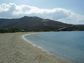 Andros beach, Andros Strand