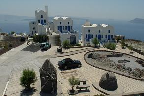 Santorini, Oia, Hotel Atlantida Villas