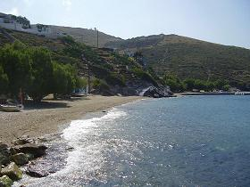 Fourni, Kampi Beach