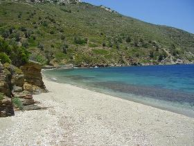 Fourni Beach, Fourni strand