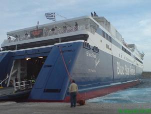 Ferry, veerboot, Iraklia