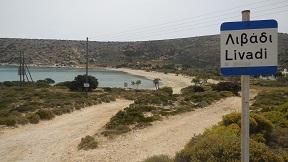 Iraklia, Livadi beach