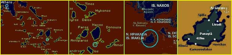 map of Iraklia