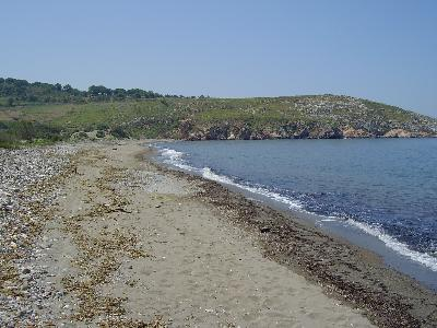 Kampos Beach Lesbos