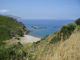 Samos, Kedros beach