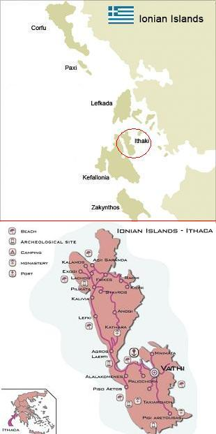 Map of Ithaka