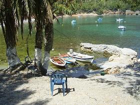 Samos, Mourti beach