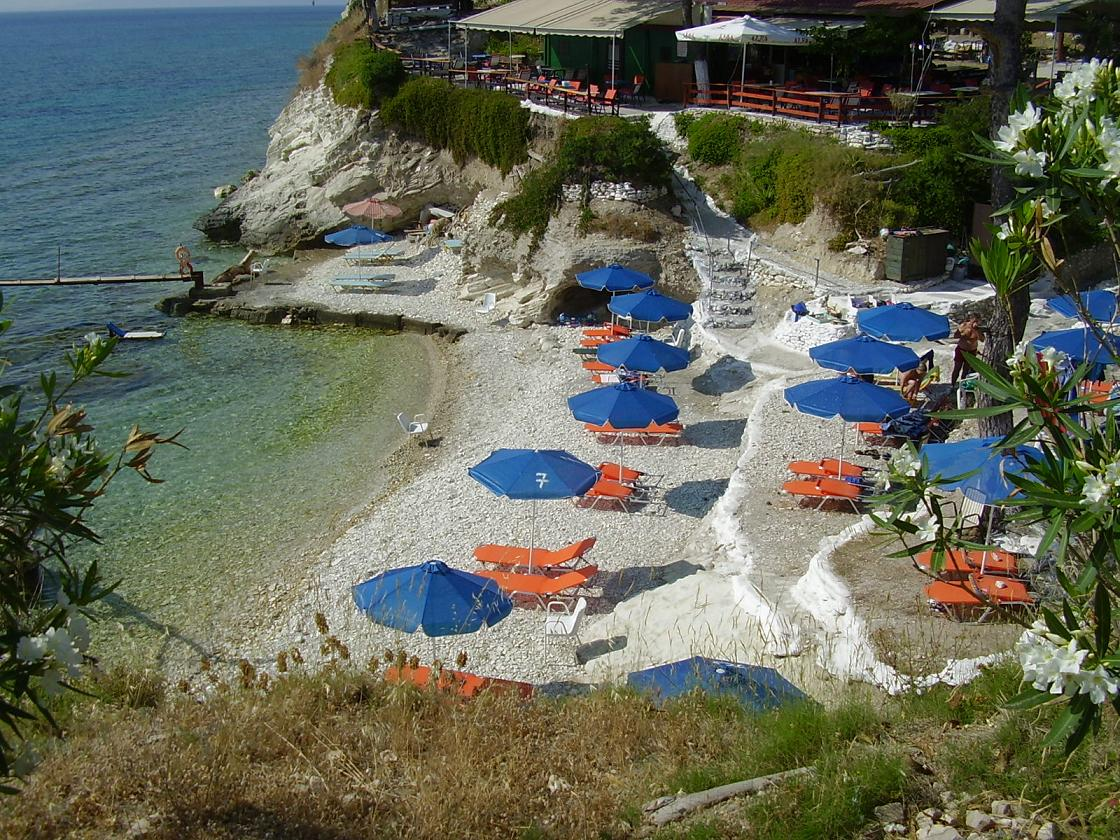 Samos Papa Beach in Ireon hotels and car rental
