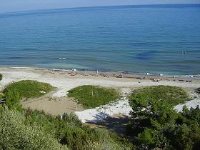 Samos, Psili Amos Beach bij Limnionas