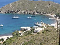 Thymena island near Fourni