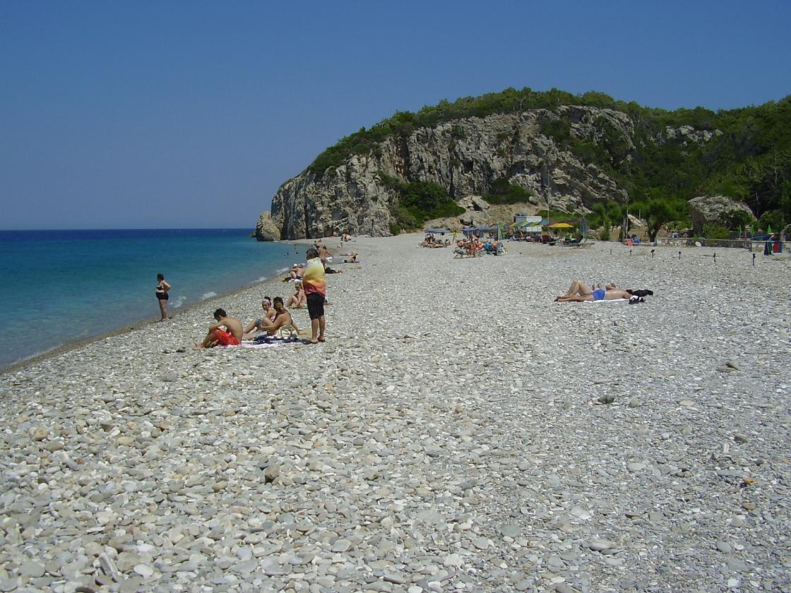Papa beach : Samos beaches - Your guide to beaches on Samos