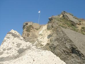 Zakynthos, Zante, Dafni Beach fortress, burcht