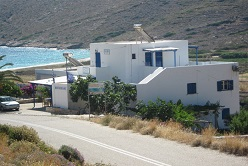 Koukos, Agia Theodoti Beach in Ios