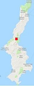 Map of Karpathos