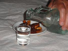 Kastania Lodge, uit drinken