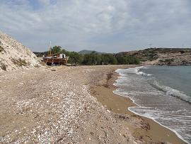 Kimolos, Klima beach