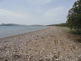 Kimolos, Aliki beach