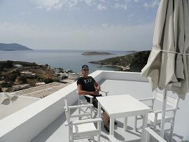 The Windmill Hotel in Kimolos in the Cyclades