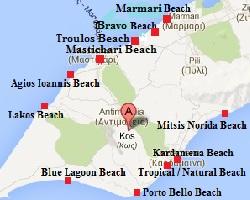 Kos beaches, Kos stranden