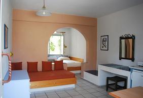 Kos, Nissia Kameres Hotel, studios and apartments