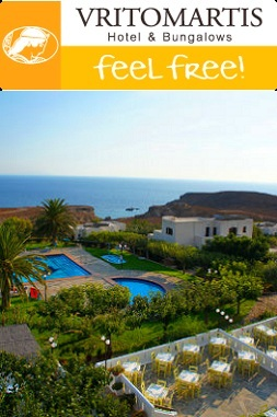 Vritomartis naturisten hotel, Chora Sfakion, Kreta