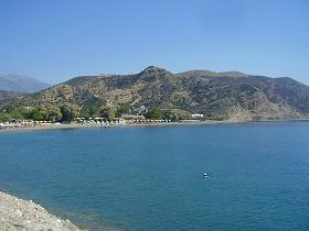 Agia Galini Beach, Crete, Kreta