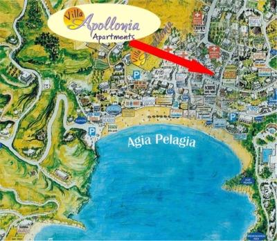 Hotel appartementen villa apolonia agia pelagia kreta for Design hotel kreta