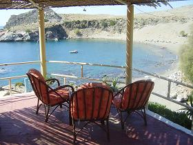 The Agios Pavlos Hotel Restaurant in Agios Pavlos on Crete
