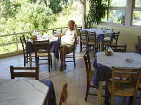 The Agios Pavlos Hotel Restaurant in Agios Pavlos on Crete