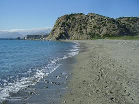 De prachtige stranden van Agios Pavlos op Kreta