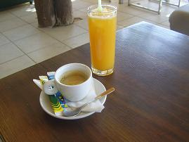 Alexander café in Agia Galini, Crete, Kreta