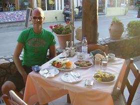 Almyrida, Almirida, Taverne Erotokritos, Crete, Kreta