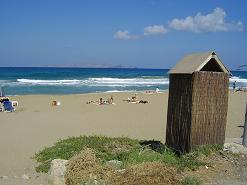 Amnissos Beach, Amnissos Crete, Kreta