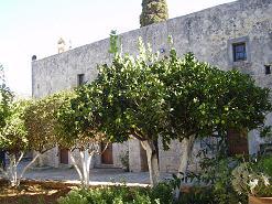 The Monastery of Aretiou Crete, het klooster van Aretiou op Kreta