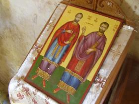 Agioi Asomatoi Church, Kreta, Crete.