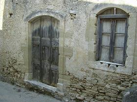 Het dorp Aspro bij Almirida, Kreta