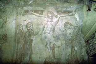 Wandschilderingen in de Agios Antonios kerk