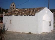 The 14th century Agios Antonios church.