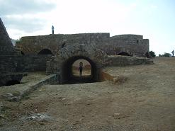 Chania Firkas fortress, het fort Firkas, Kreta, Crete