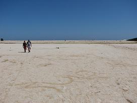 Gavdos, Salt Lake Tripiti, zoutmeer in Tripiti