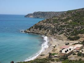 Gavdos, Korfos Beach