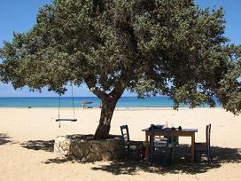 Gavdos, Sarakiniko Beach