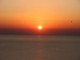 Gavdos, Faros Sunset, zonsondergang in Faros