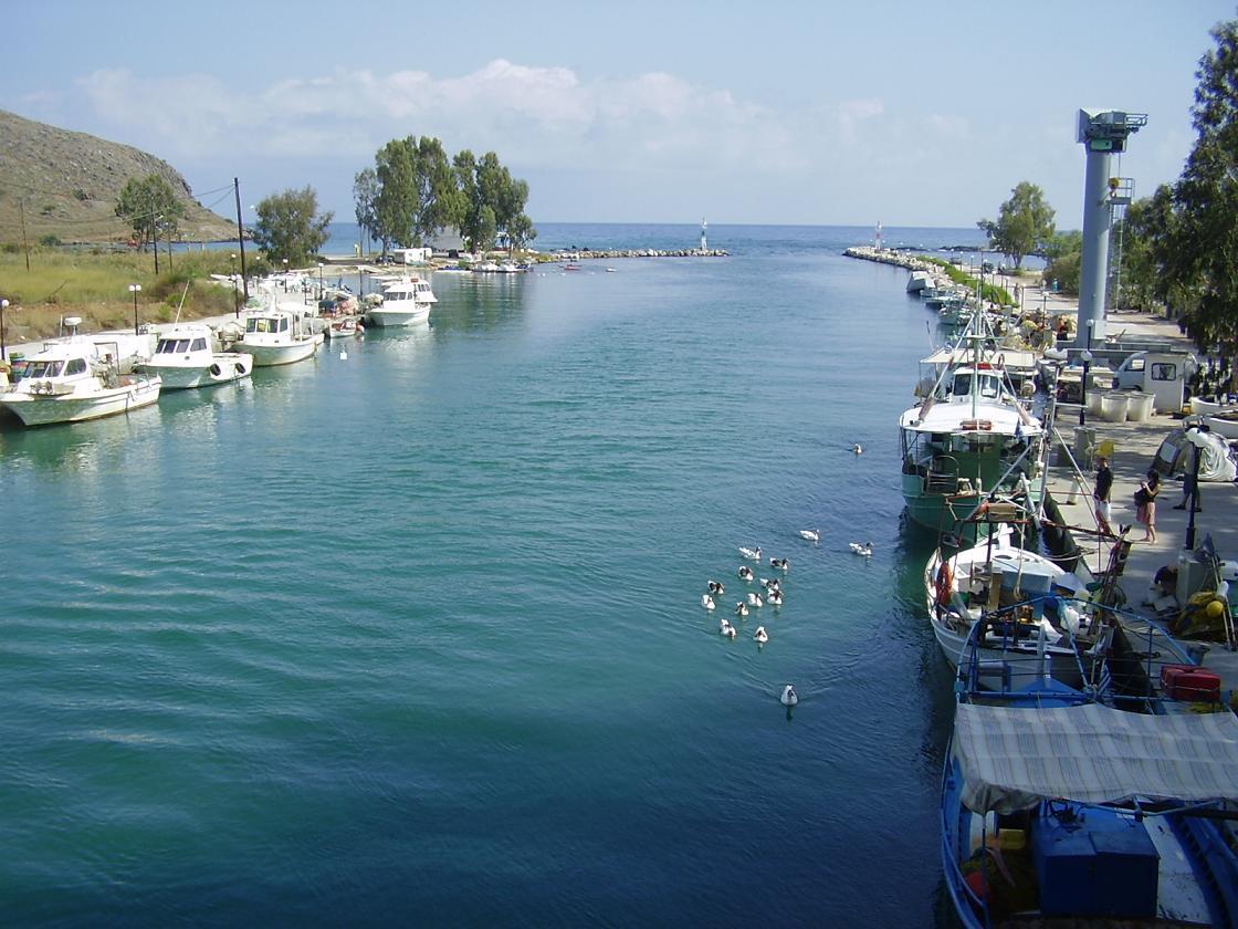 Georgioupoli Or Georgioupolis In Crete Greece Pictures