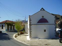 Het dorp Kasteli op Kreta, the village of Kasteli on Crete.