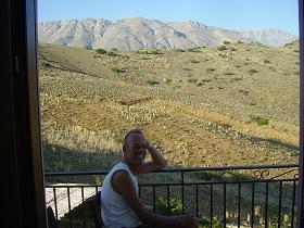Uitzicht vanaf Kavos Melissa in Agios Pavlos op Kreta