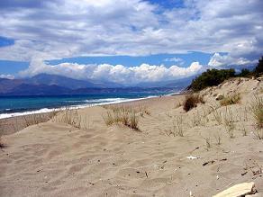 Kommos Beach, Crete, Kreta.