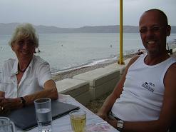 Café Tavern Kozakas, Kissamos, Kreta, Crete