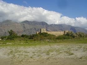Kreta landschap, Crete landscape, Frangokastelo.